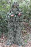 Durable Forest Product Mesh Lining 3D Camo Ghillie Suit
