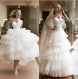 Sweetheart Ball Gowns Puffy Sequins Bridal Wedding Dresses We19