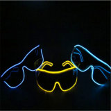 LED EL Wire Lighting Sunglasses