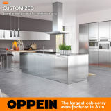 2017 Hot Sale Modern Stainless Steel Kitchen Furniture Modular Kitchen Cabinet (OP17-S30)