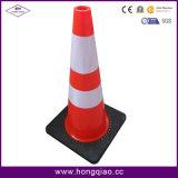 70cm Black Base PVC Cones (LZ-204)