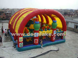 2 Floor with Many Animal Inflatable Fun City Amusement Park