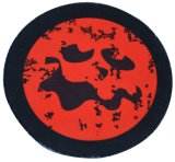 Natural Rubber Mouse Pad with Halloween Theme Design