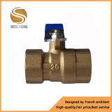 GB Standrad Brass Ball Valve with Long Handle Dn32