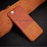 PU Splice Mobile Phone Case for iPhone5/ 6/7/8