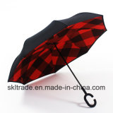 New Sun Protection Outdoor Inverted Umbrella with Double Canopy