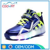 China Wheels Roller Shoes Manufacturer LED Light up Roller Skate Wheel Shoes