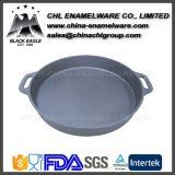Amazon Wholesale Smokeless Enamel Cast Iron Fry Pan Skillet