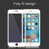 2.5D Round Edge Phone Accessories Silk Printing Tempered Glass Screen Protector for iPhone 6 Mobile Phone