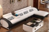 Fashion Leather Sofa Modern Living Room Furniture (HX-SN046)