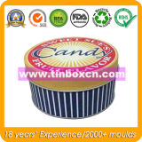 Round Candy Tin Box, Candy Can, Candy Box, Confectionary Tin