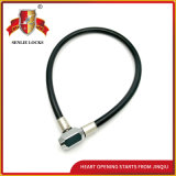 Jq8224 Two Colors Safety Steel Cable Lock Bicycle Lock