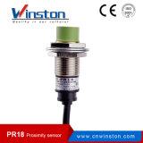 Pr18 Flush Waterproof Metal Inductance Proximity Sensor