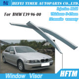 Sun Chrome Side Window Visor Vent Guards Rain for BMW E39 96-00