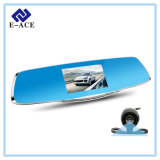 Full HD Dual Lens Rearview Mirror Camera with Car DVR