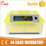 Hot Sale Newest Chicken Mini Incubator 48 Eggs (YZ8-48)