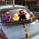 Brand New Fashion Cool Decoration Lovely Kumamoto Bear Spiderman Little Yellow Style Toy Mini Cooper Car Accessories