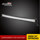 "50"" 288W CREE Curved off Road LED Work Light Bar"