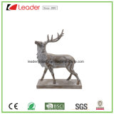 Polyresin Peaceful Deer Sculpture Statue for Home and Garden Decoration