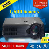 A4 Size Mini LCD LED Projector (X300)
