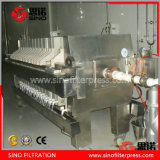China Program Control PP Automatic Filter Press for Pharmaceutical Engineering