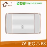 Hot Sale 1 Gang Door Bell Wall Switch with Light
