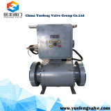 Electric Opetare Top Entry Ball Valve