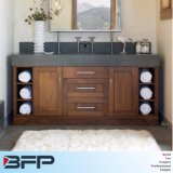Bathroom Vanity Cabinets with Double Ceramics Basin for Bathroom Furniture