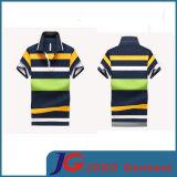 Leisure Striped Polo Shirt for Men (JS9031m)