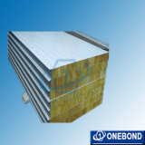 Fireproof Aluminum Rockwool Sandwich Panel