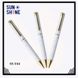 White Heat Transfer Print Pen Metal Custom Logo Pens