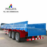 Side Wall Removable Container Cargo Transport Truck Semi 40FT Flatbed Trailer