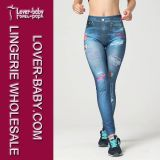 Women′s Sexy Hot Skinny Stretchy Pants Soft Leggings Tights L97039