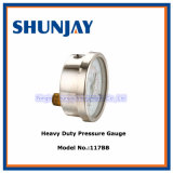 High Quality Stainless Steel Heavy Duty Industrial Oil Pressure Gauges