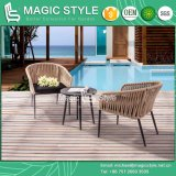 Tape Weaving Chair Bandage Chair Strip Furniture Aluminum Table (Magic Style)