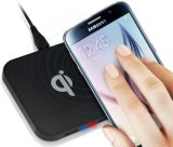 Square Portable Qi Standard Wireless Charger for Cellphone