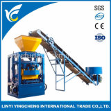Qt4-24b Vibrate Motor Concrete Hollow Block Production Line