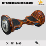 """New Big Infatable Wheels Flame 10"""" Self Balancing Electric Scooter"""