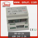 60W 12V 15V 24V 48V Dinrail Power Supply Switching