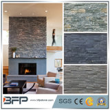 Natural Black Slate Ledge Stone Veneer for Cultural Stone