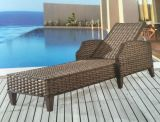 Outdoor Furniture Rattan Lying Bed Pool Lounge Chair