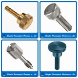 Stainless Steel Brass Big Head Knurled Thumb Screw (M3 M4 M5 M6)