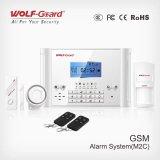 Advanced GSM Home Burglar Alarm with Mutifunction Language