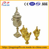 Hot Sale Delicate Gold Plated Metal Medal Trophy for Craft Gifts