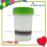 Urine Cup With Thermometer Strip