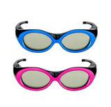Green Environmental Protection Kid′s 3D Glasses
