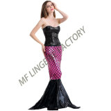 Carnival Party Fish Tail Dress Mermaid Sexy Halloween Costume
