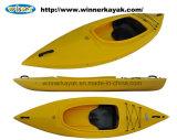 Single Recreational Plastic Cockpit Kayak