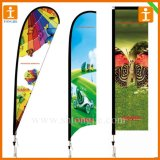 Advertising Banner Teardrop Bow Flag (TJ-39)