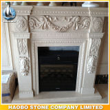 Beautiful Hand Carved Antique Fireplace Surround Sandstone